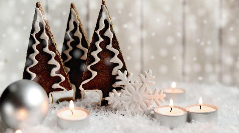 Letošním Vánocům kraluje bílá barva